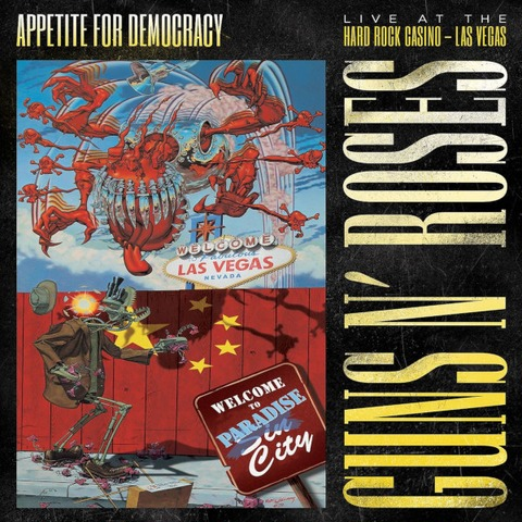 √Appetite For Democracy: Live (Ltd. DVD+2CD Boxset) von Guns N' Roses - Box set jetzt im Guns N' Roses Shop
