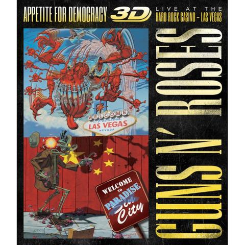 √Appetite For Democracy: Live (Ltd. BR+2CD Boxset) von Guns N' Roses - Box set jetzt im Guns N' Roses Shop