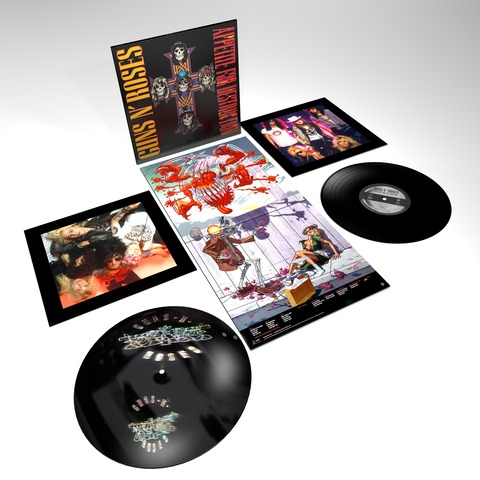 √Appetite For Destruction - 2LP 180g Ltd. Audiophile Vinyl Edition von Guns N' Roses - LP jetzt im Guns N' Roses Shop