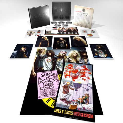 √Appetite For Destruction - Super Deluxe Edition von Guns N' Roses - CD jetzt im Guns N' Roses Shop