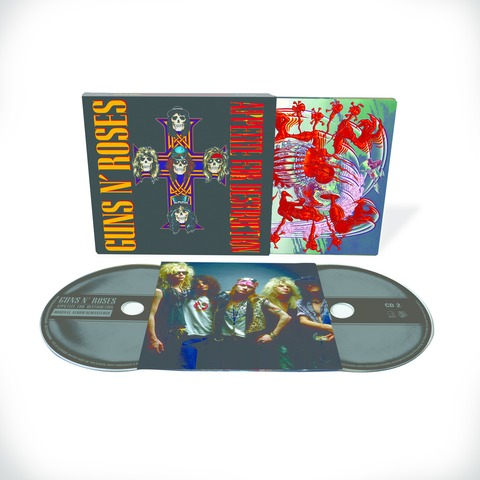 √Appetite For Destruction - 2CD Deluxe Edition (Ltd. Edition) von Guns N' Roses - CD jetzt im Guns N' Roses Shop