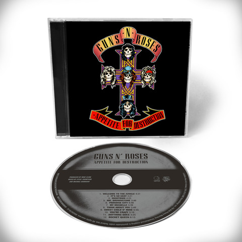 Appetite For Destruction - 1CD Remaster von Guns N' Roses - CD jetzt im Guns N' Roses Shop