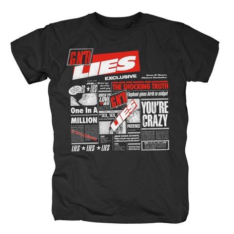 √Lies von Guns N' Roses - T-Shirt jetzt im Guns N' Roses Shop