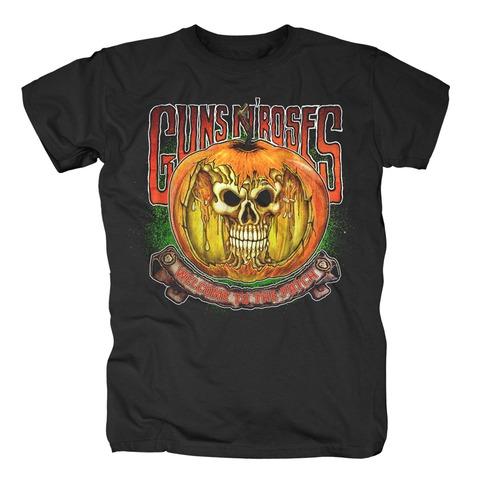 √Melting Skull Pumpkin von Guns N' Roses - T-Shirt jetzt im Guns N' Roses Shop
