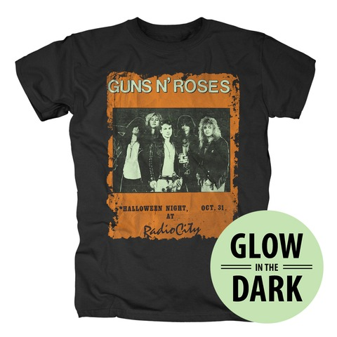 √Vintage Photo Halloween von Guns N' Roses - T-Shirt jetzt im Guns N' Roses Shop
