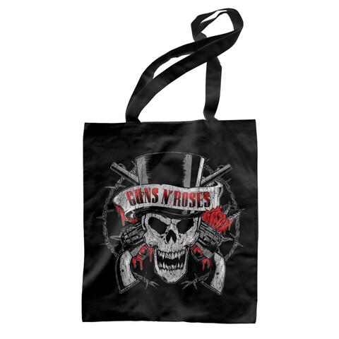 Top Hat Skull von Guns N' Roses - Baumwollbeutel jetzt im Guns N' Roses Shop