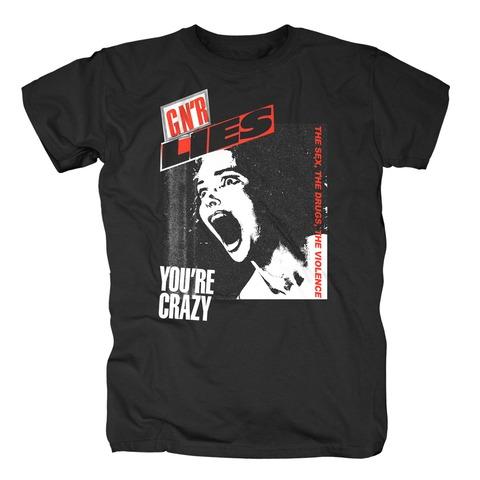 √Lies Crazy von Guns N' Roses - T-Shirt jetzt im Guns N' Roses Shop