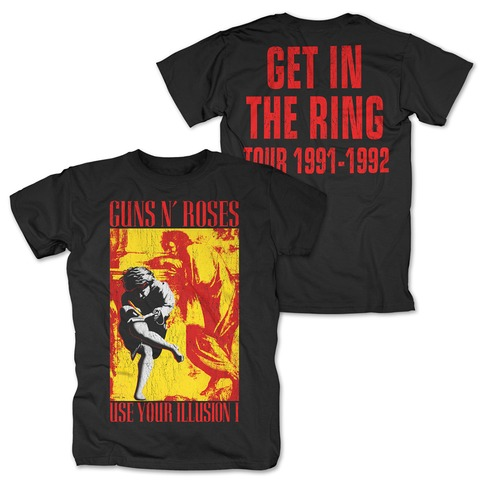 √Illusion - Get In The Ring von Guns N' Roses - T-Shirt jetzt im Guns N' Roses Shop