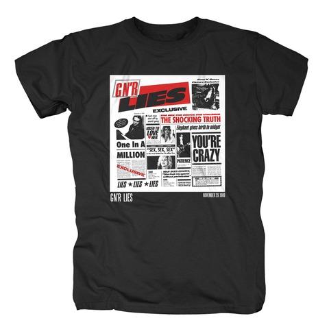 √Lies 30th Anniversary von Guns N' Roses - T-Shirt jetzt im Guns N' Roses Shop