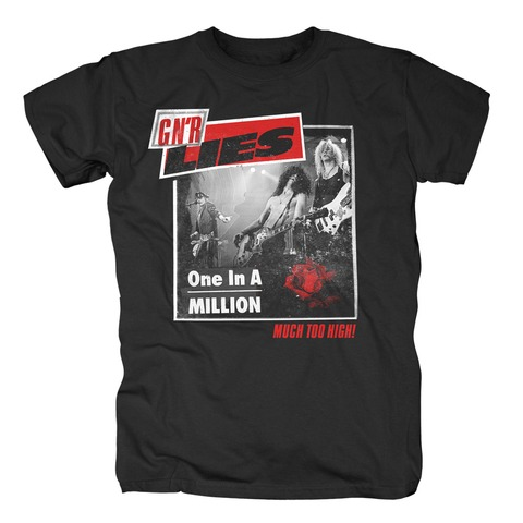 √One In A Million von Guns N' Roses - T-Shirt jetzt im Guns N' Roses Shop