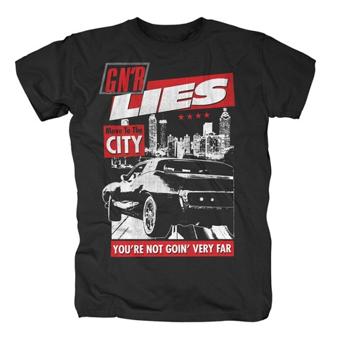 √Move To The City von Guns N' Roses - T-Shirt jetzt im Guns N' Roses Shop
