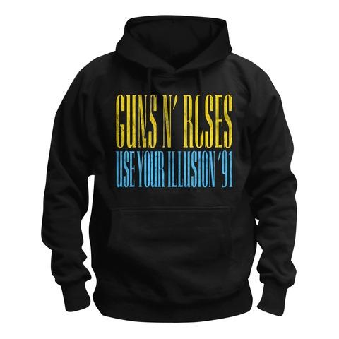 √Pirate Skull Illusion von Guns N' Roses - Hood sweater jetzt im Guns N' Roses Shop