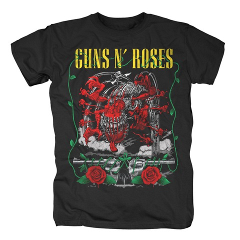 √Appetite Creature and Pistols von Guns N' Roses - T-Shirt jetzt im Guns N' Roses Shop