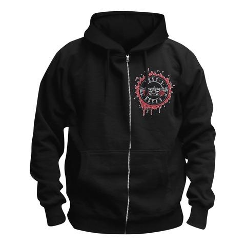 Suicide Skull von Guns N' Roses - Kapuzenjacke jetzt im Guns N' Roses Shop