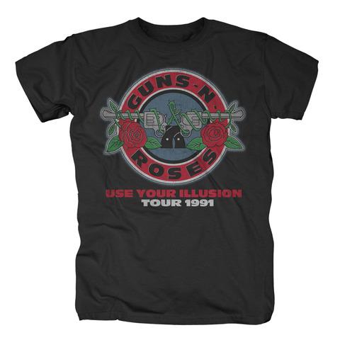 √Illusion Bullet Seal von Guns N' Roses - T-Shirt jetzt im Guns N' Roses Shop